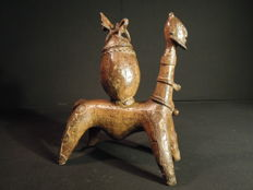 Pot in bronze - DOGON - Mali