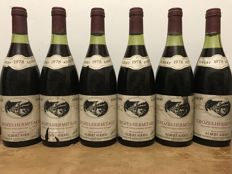 "1978 Crozes Hermitage ""Tête de Cuvée"" Albert Added - Total 6 Bottles"