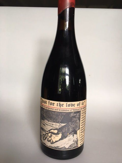 2002 Sine Qua Non, Just for the love of it - 1 bottle (75cl) - 100/100 Parker Pts