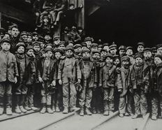 Lewis W. Hine (1874-1940) - Young Boys Pennsylvania Coalmine - 1911