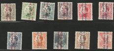 France and Spain 1870/1960 - Selection on stock cards