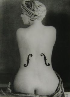 Man Ray (1890-1976) - Le violin d'ingres, 1924