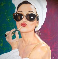 J.Van Horssen - Audrey. Put your gloss on