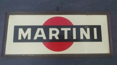 Martini advertising sign from 20th century