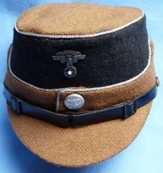 Very Rare Original German NSKK National Socialist Motor Corps (Nationalsozialistisches Kraftfahrkorps) Miniature Hat Cap
