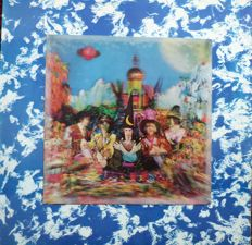 The Rolling Stones- Their Satanic Majesties Request - lp/ UK stereo pressing from 1967