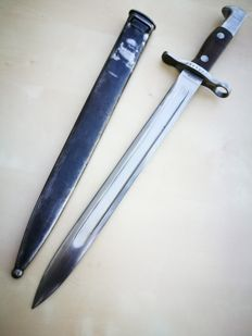 Bayonet for Schmidt-Rubin M1889, Switzerland, 1st model (Maschinefabrik Bern) in very good condition