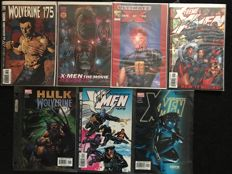 Collection Of Limited Edition Signed Marvel Comics - Including Wolverine, X-men, Hulk + More - Complete With Certificate Of Authenticity