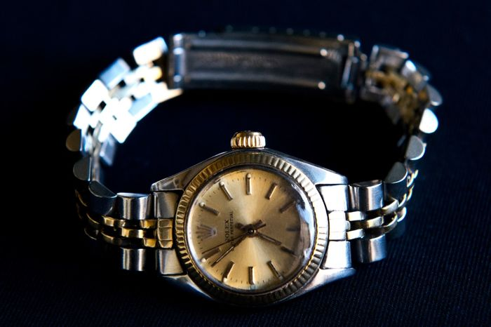 Rolex - Oyster Perpetual - 67913 - Dames - 1990-1999