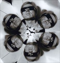 Arthur Fellig aka Weegee - Multiple Portrait of Andy Warhol - 1967