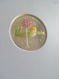 France - Coloured silver 50 euro 2016 'The Little Prince' wave 1