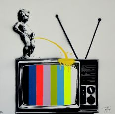 Truteau - The Manneken-Pis on TV