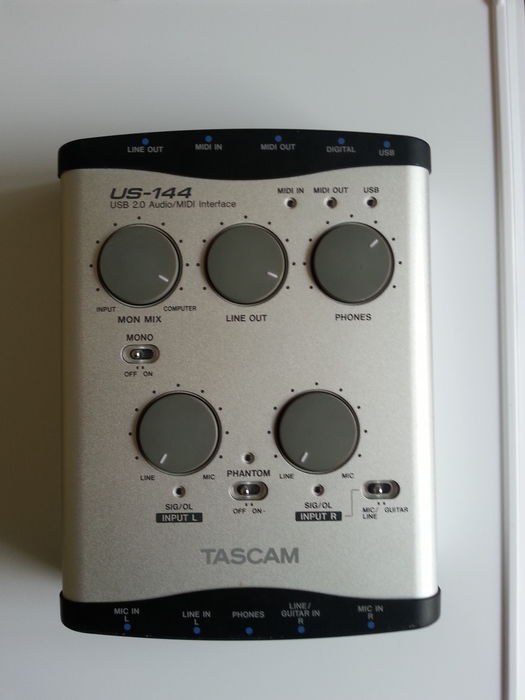 DOWNLOAD DRIVERS: TASCAM US 144 USB 2.0 AUDIO MIDI INTERFACE