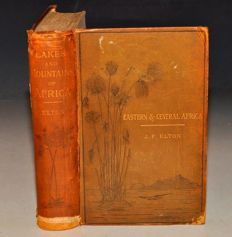 J.F. Elton - Travel & Researches Lakes & Mountains of Eastern & Central Africa  - 1879