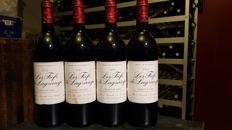 1992 Chateau Les Fiefs de Lagrange - Saint Julien - 4 bottles 75cl.