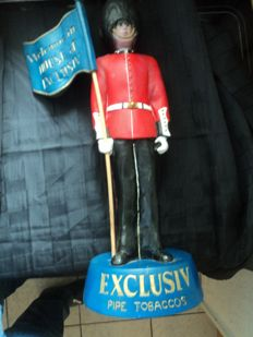 1 advertising sculpture of 'Exclusive Pipe Tobaccos', height approx. 55 cm,