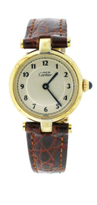 Cartier Vermeil Must de Cartier – ladies watch