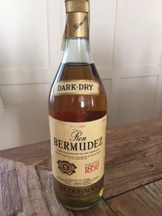 Ron Bermudez El Dorado Gold Label 100cl 1970s