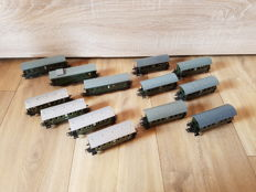 Märklin H0 - 4000/4002/4003/4040 - Twelve passenger carriages and a baggage carriage