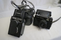 """""""Lubitel'-166B""""  1982. Condition as new. In the present, the vanishing camera """"Siluet-elektro"""" produced by BelOMO (Minsk) 1976-1981."""