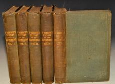 J. H. Merle D'Aubigne - History of the Reformation of the Sixteenth Century - 5 volumes - 1846