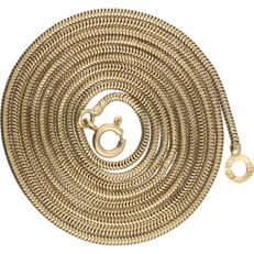 14 kt – Yellow gold snake necklace – 80 cm