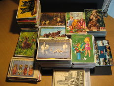 The Netherlands + international-1940's -1990's more than 1740 cards-various themes