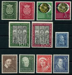 Federal Republic of Germany - years 1950 & 1951 - Michel 121/147
