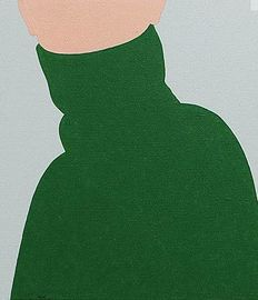 M.Weiss - Girl in a green sweater