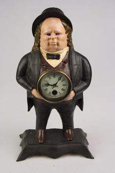 John Bull Clock - Moving eyes - 2nd half of 20th century