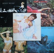 Roxy Music - Complete lot of 10 albums and a DVD (Island / E.G. - Polydor / Eagle (1972-1983) - mostly NL press
