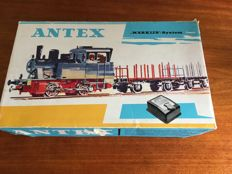 Märklin/Antex H0 - 2910 - train set with steam locomotive, two freight cars and a passengers coach