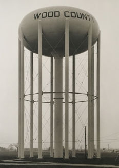 Bernd & Hilla Becher ( 1931-2007 / 1961-2007)- 'Water Tower, Toledo' - 1978