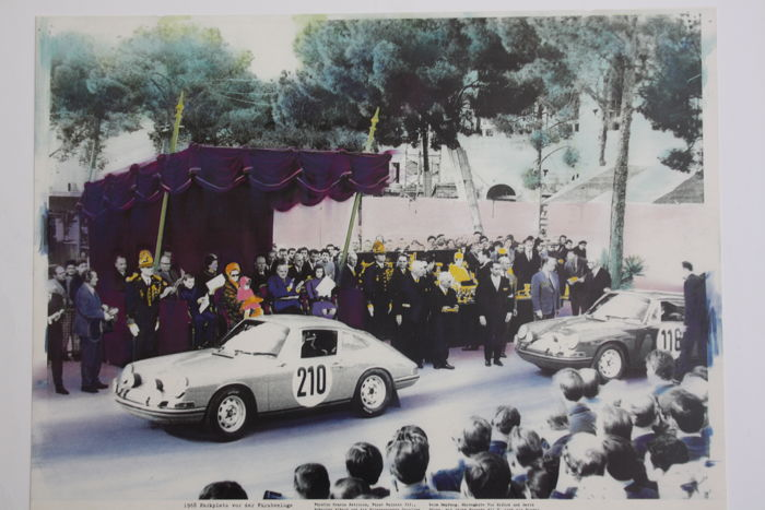 Porsche 911 - Photo /Poster - 1968 Montecarlo Rally