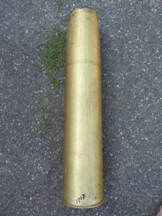 Russian howitzer/gun cartridge case from the cold war