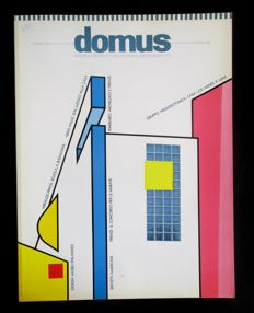Domus - Monthly review of Architecture - Interiors - Design - Art - 9 delen - 1988