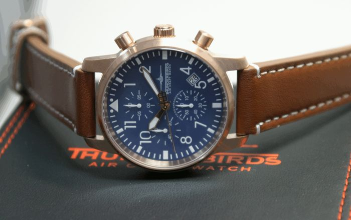Thunderbirds Air Craft Chronograph made by EICHMÜLLER  – men's wristwatch 2017