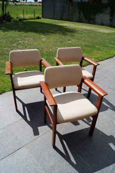 Sibast Furniture - set of 3 chairs.