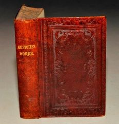 Aristotle -  The Works of Aristotle The Famous Philosopher - in Five Parts - ca. 1840