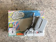 New 3DS white version boxed with adapter