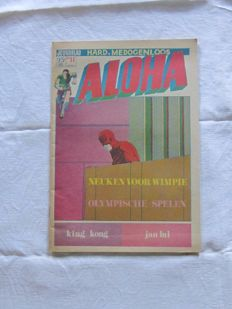 "Underground; Lot with 28 issues of ""Aloha"" - 1971 / 1972"