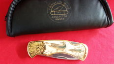 Franklin Mint hunting knife, collector's knife Fish
