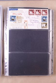 The Netherlands 1957/1999 – Batch of First Day Covers in 8, partially old, albums + separate sheets