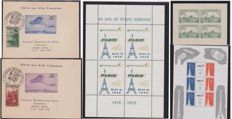 France 1943/1988 - Aviation - Airmail Exposition Block