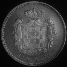 Portugal – 500 Reis in SILVER – D. Maria II – 1846 – Lisbon – AG: 39.11 – Excellent