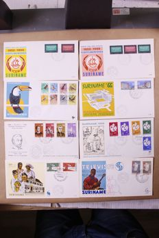 Netherlands Overseas 1949/1985 – Batch of approx. 2,750 First Day Covers in a large box