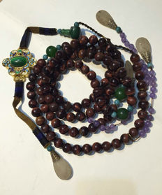 Replica of a Qing Dynasty necklace- late twentieth Century