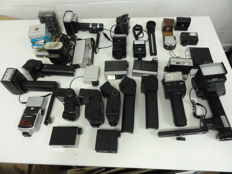 Lot of flashes and filters