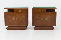 Art Deco - a set of bedside tables