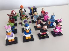 Collectable Mini figures - The Disney Series (complete set of 16 mini figures)